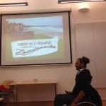 Potopisno predavanje o letu potovanja na vozičku po Južni Ameriki